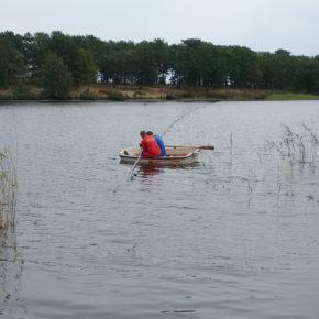 Tiefenwasser Ablauf  (Olszewski Rohr) in den Wollingster See eingebracht